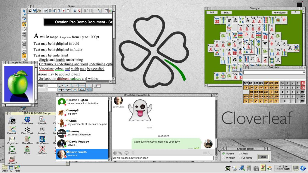 RISC OS Desktop